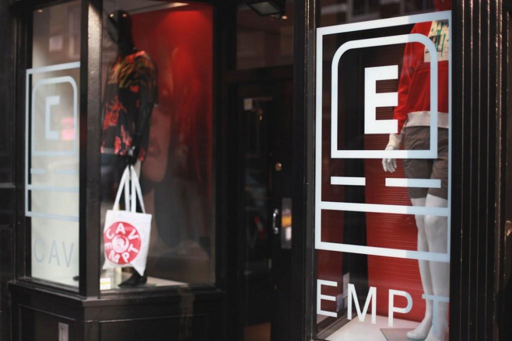 C.E 在倫敦Soho 區開設期間店鋪 6