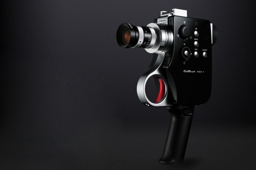 "DIGITAL SUPER 8 VIDEO ""BELLAMI HD-1″ CAMERA BY CHINON 1"