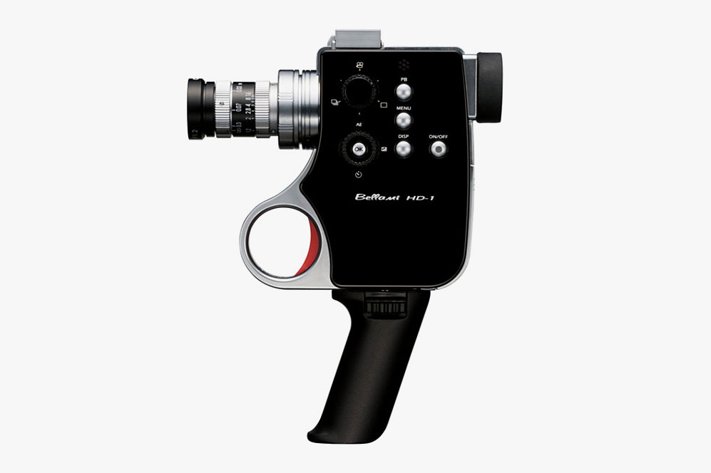 "DIGITAL SUPER 8 VIDEO ""BELLAMI HD-1″ CAMERA BY CHINON 2"