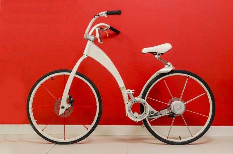 GiBike —— 3秒完成折疊,更能為手機充電的單車 2