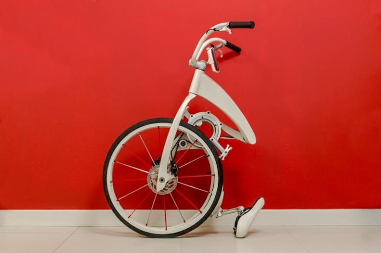 GiBike —— 3秒完成折疊,更能為手機充電的單車 4