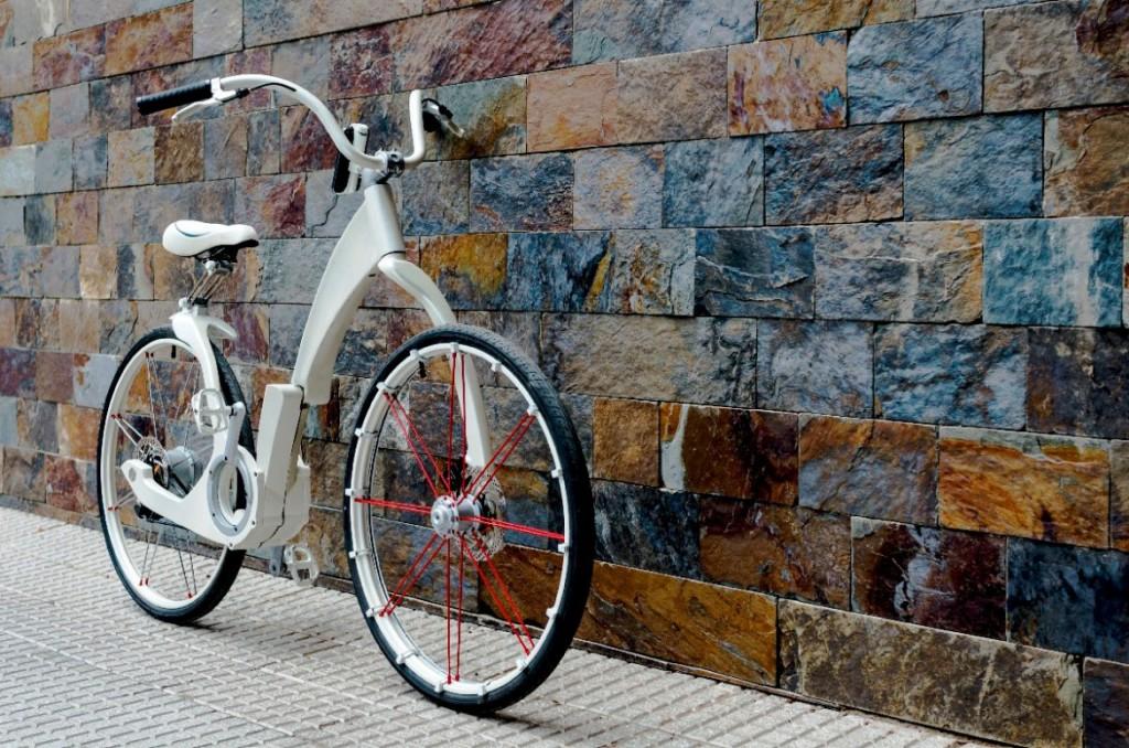 GiBike —— 3秒完成折疊,更能為手機充電的單車 12