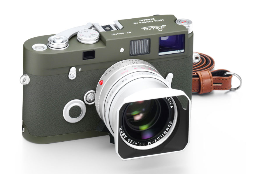 Leica MP Olive and X2 Olive Limited Edition Cameras 1