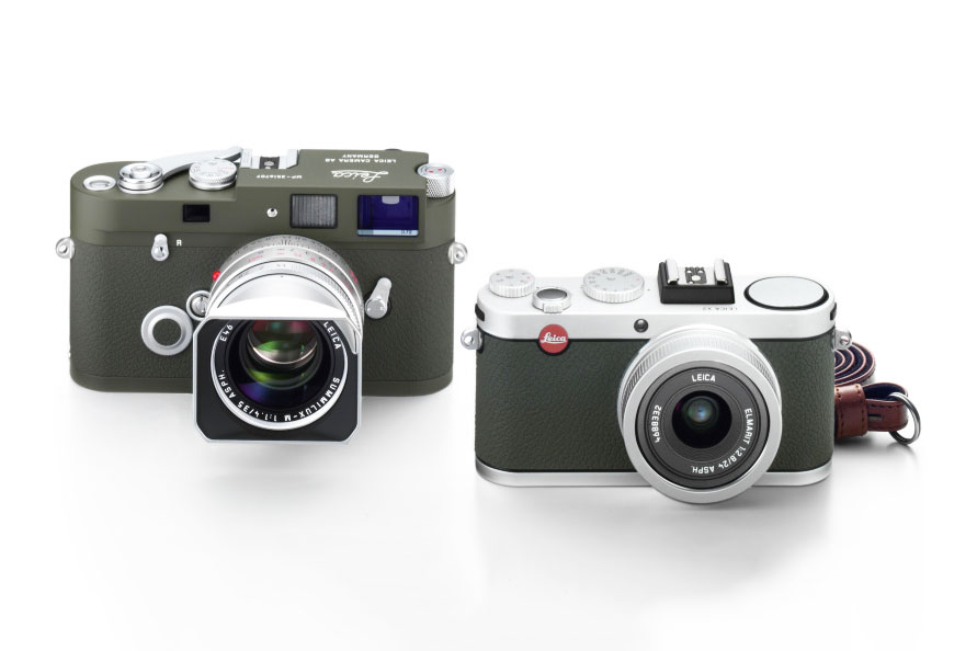 Leica MP Olive and X2 Olive Limited Edition Cameras 3
