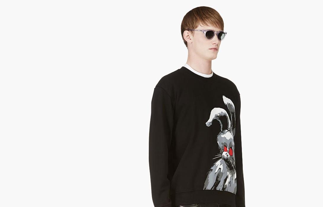 """暴戾的兔子! McQ Alexander McQueen 帶來全新""""BLACK ANGRY"""" 衛衣"""