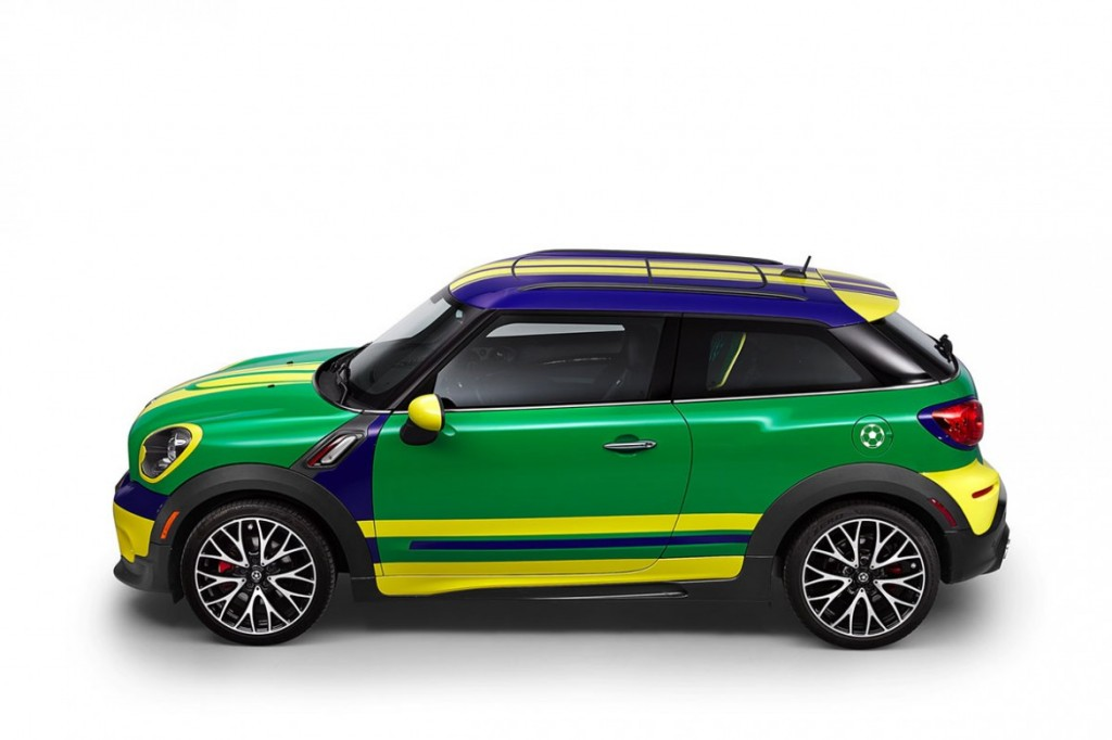 MINI 推出2014巴西世界杯特別版—— MINI Paceman GoalCooper 3