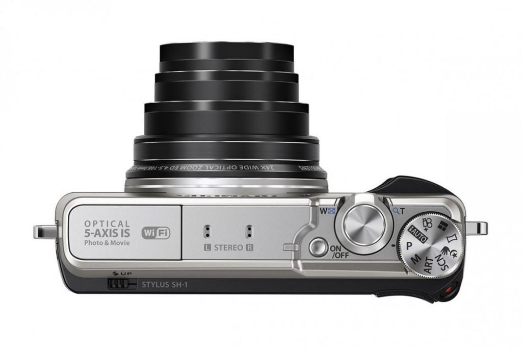 OLYMPUS 推出廉價版具備五軸防震的SH-1 相機 3