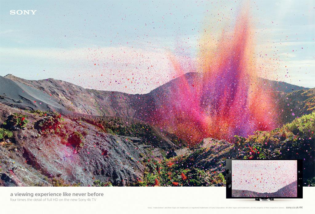 前所未有的視覺體驗—— Sony 帶來BRAVIA 4k 電視廣告 1