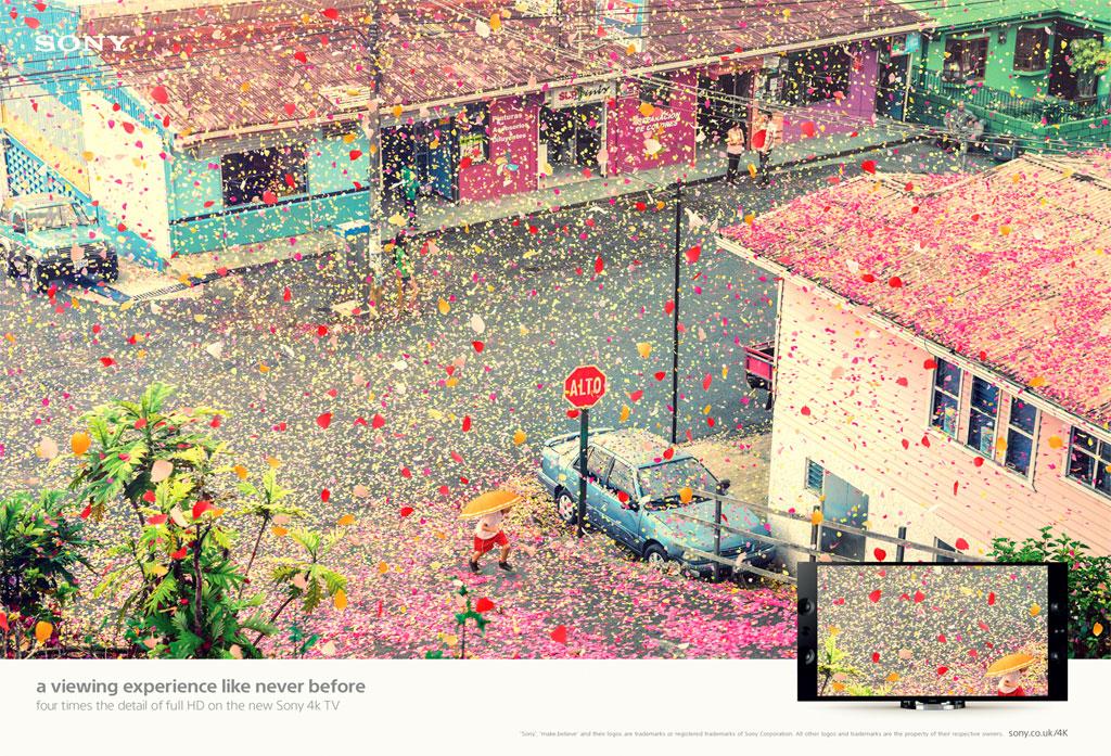 前所未有的視覺體驗—— Sony 帶來BRAVIA 4k 電視廣告 4