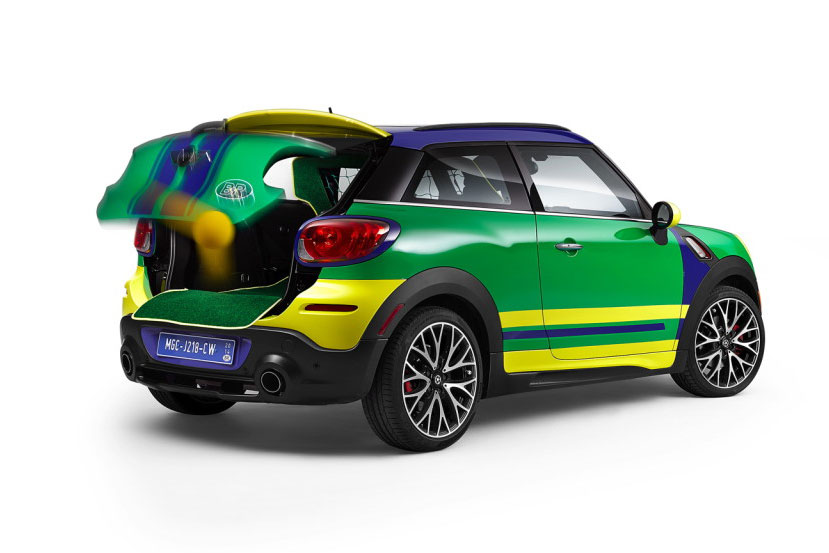 The MINI Paceman GoalCooper Special Edition for 2014 World Cup in Brazil 2