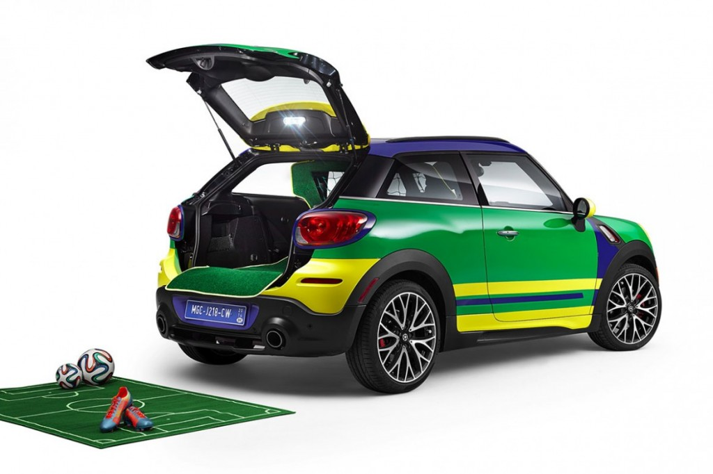 The MINI Paceman GoalCooper Special Edition for 2014 World Cup in Brazil 3