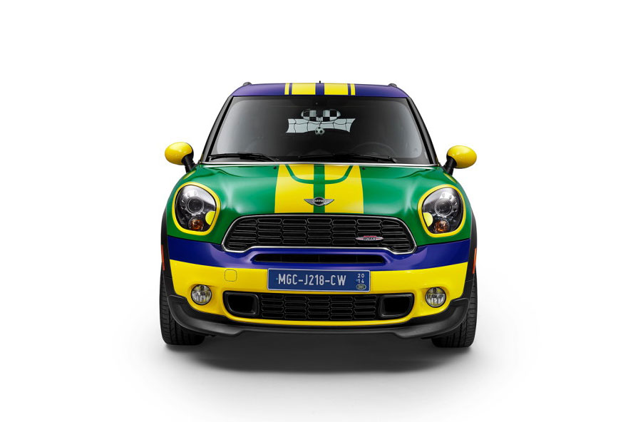 The MINI Paceman GoalCooper Special Edition for 2014 World Cup in Brazil 4