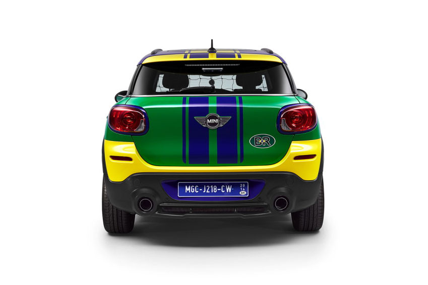 The MINI Paceman GoalCooper Special Edition for 2014 World Cup in Brazil 5
