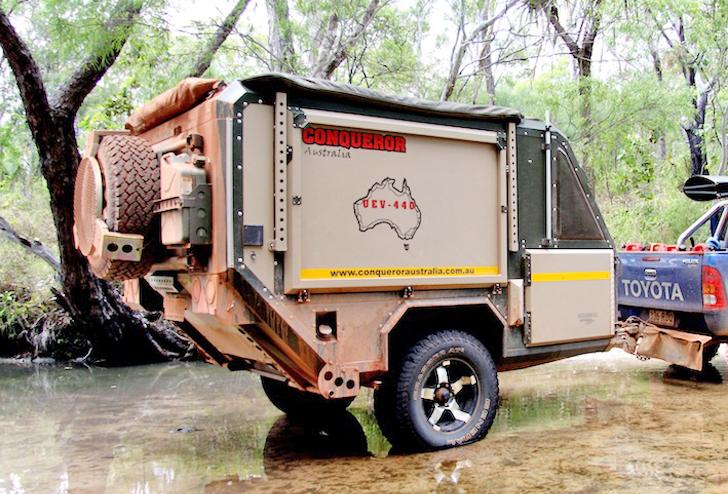 城市逃亡艙,conqueror Australia Uev 440 豪華越野房車 Trendsfolio