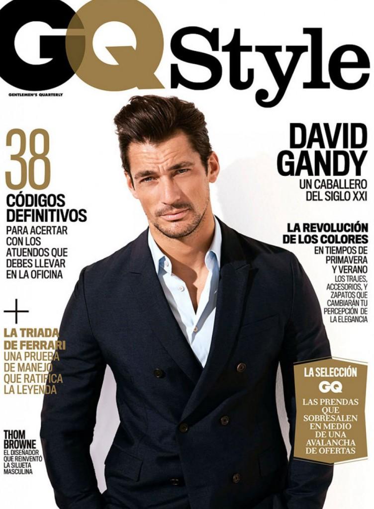 欣賞極品男人的時尚軌跡,David Gandy 2014 上半年雜誌封面特輯集合 3