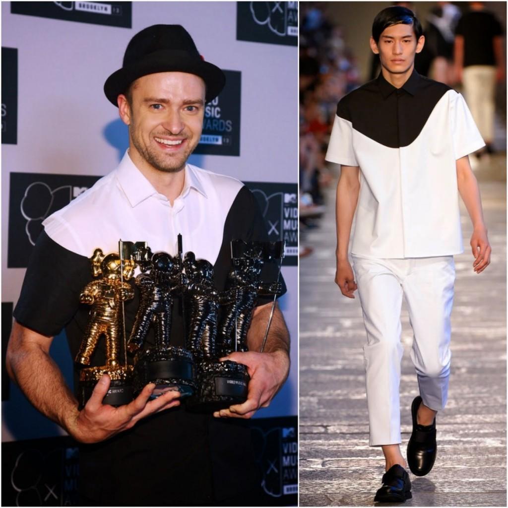 一拍即合的時尚風格,那些 Justin Timberlake 穿著 Neil Barrett 的精彩瞬間 1