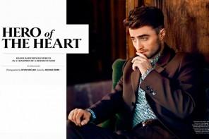 Daniel Radcliffe 為《Essential Homme magazine》 雜誌拍攝造型特輯
