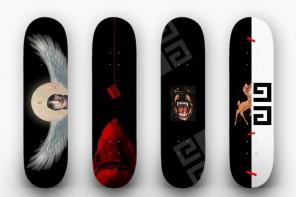 Givenchy x Plan B Skateboards 發表聯名系列單品