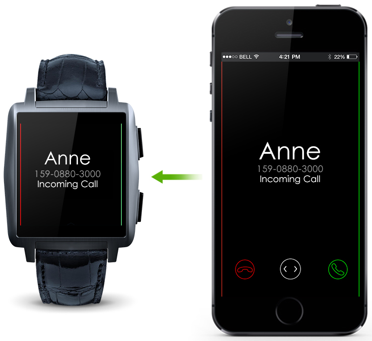 Omate X – A Fashionable Smartwatch 1