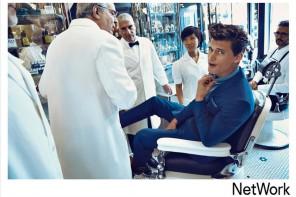 Barbershop 的複古魅力,Garrett Neff 演繹 Network 2014 秋冬季廣告造型