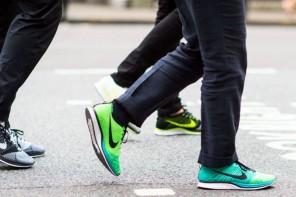 時尚新趨勢:西裝+運動鞋