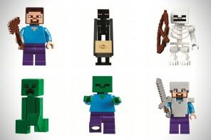 想像力與趣味的無盡蔓延,LEGO 全新推出Minecraft Collection
