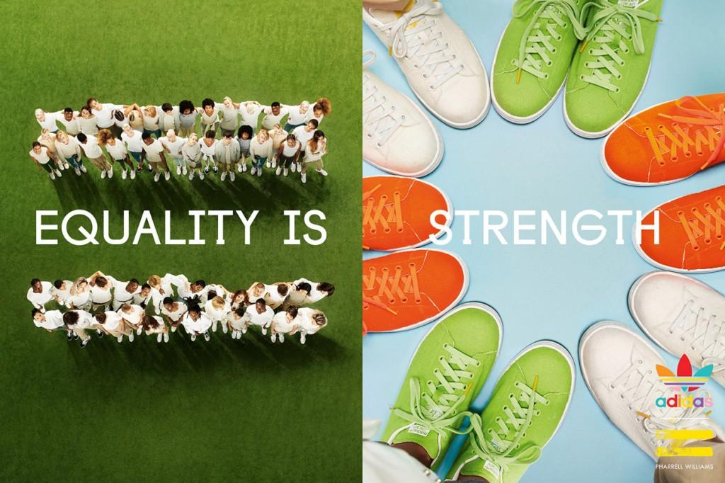充滿樂觀與希望,Pharrell Williams x adidas Originals 帶來全新形象特輯 1
