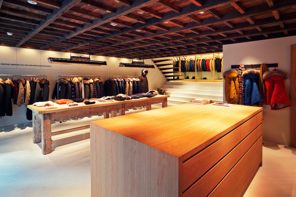 Woolrich John Rich & Bros. Open Tokyo Store 1