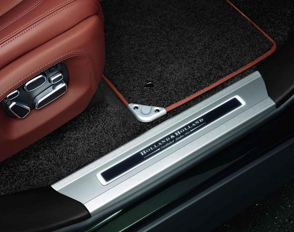 Land Rover 聯合槍械製造商Holland & Holland 打造2015 特別版Range Rover 車款 2