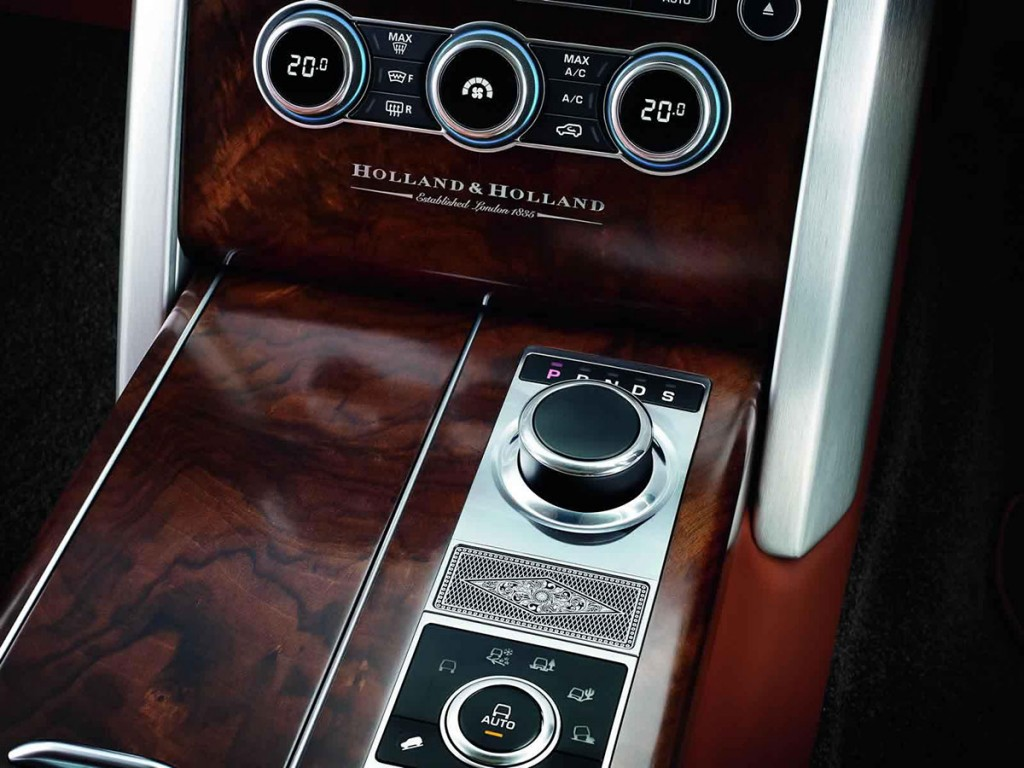 Land Rover 聯合槍械製造商Holland & Holland 打造2015 特別版Range Rover 車款 3