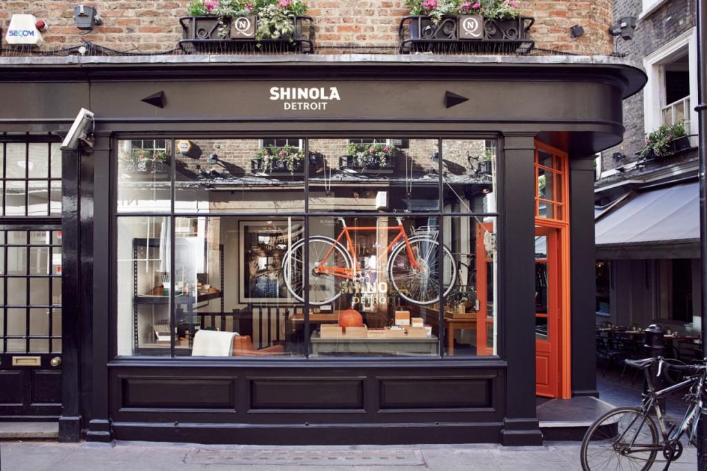 一窺 Shinola倫敦全新旗艦店鋪 4