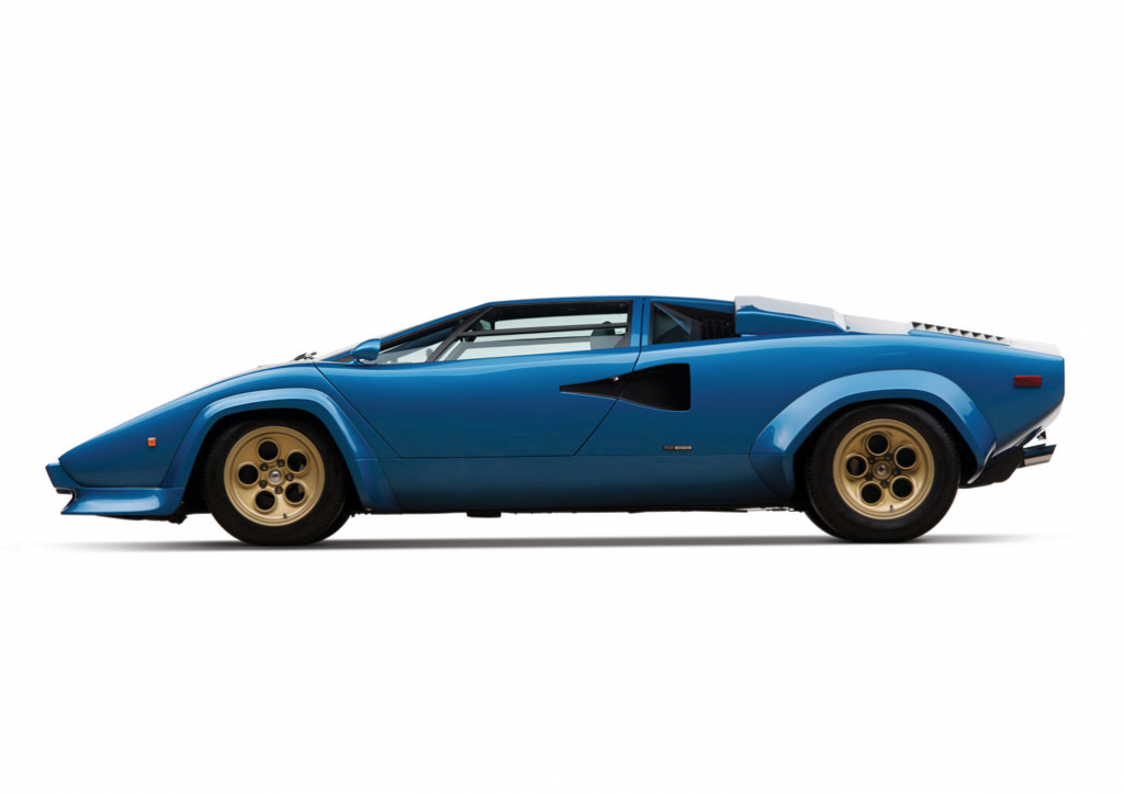 1979 Lamborghini Countach LP400S 寶藍色版本超跑 2
