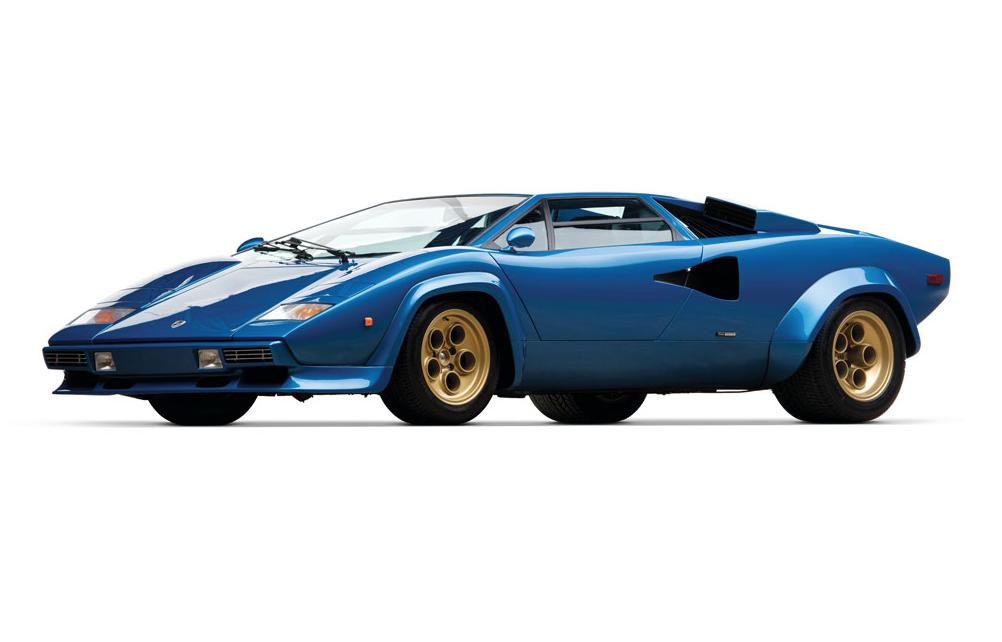 1979 Lamborghini Countach LP400S 寶藍色版本超跑 9