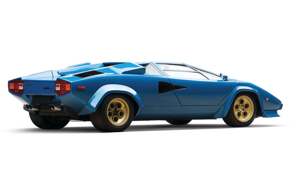 1979 Lamborghini Countach LP400S 寶藍色版本超跑 10