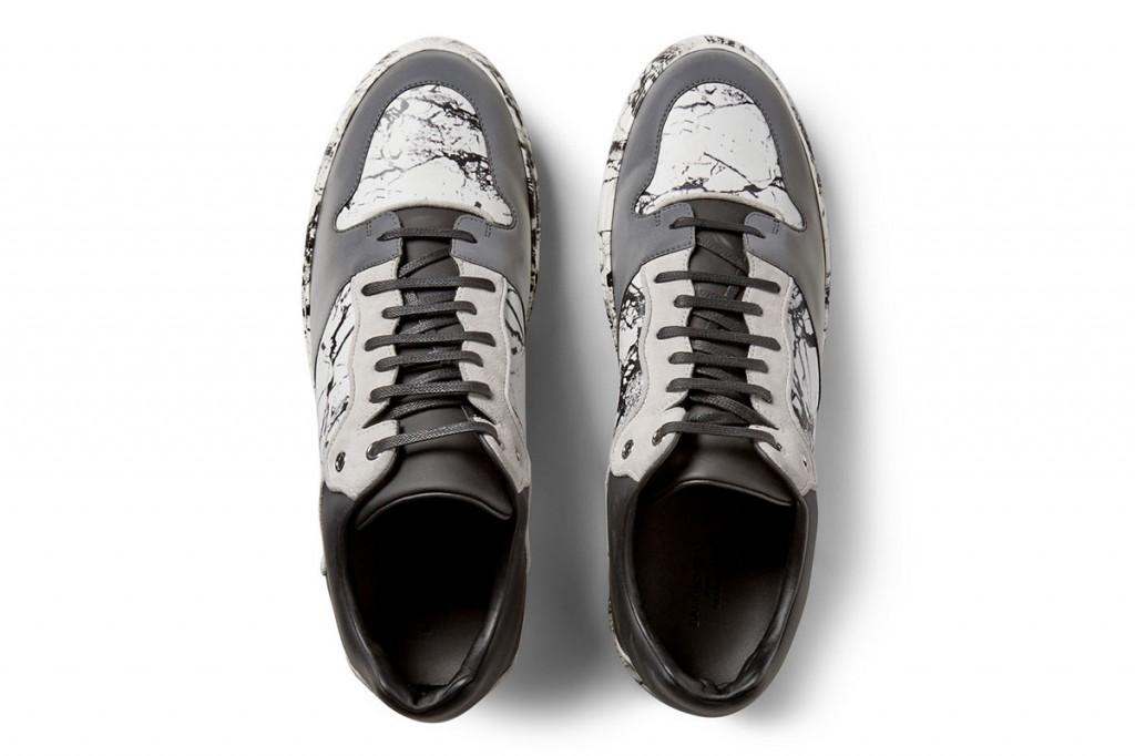 Balenciaga 大理石紋反光運動鞋 2