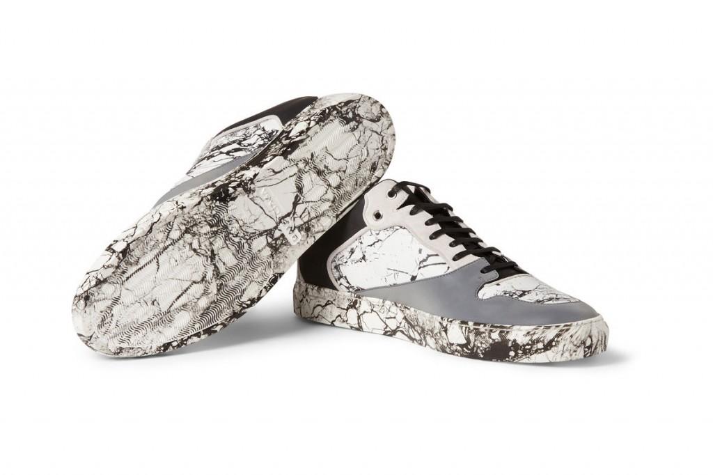 Balenciaga 大理石紋反光運動鞋 3