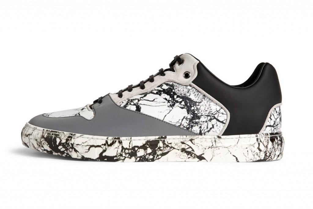 Balenciaga 大理石紋反光運動鞋 5