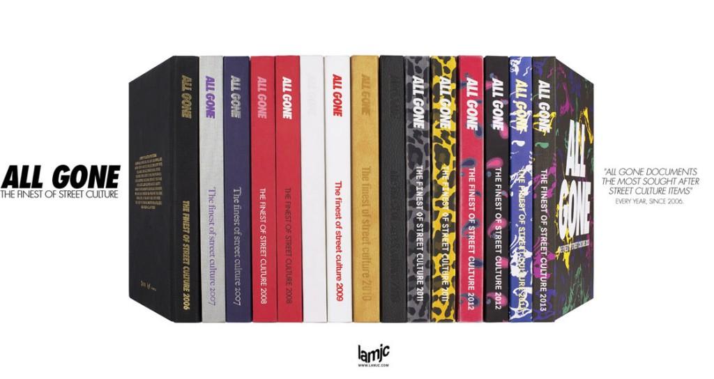 帶你全面了解街頭文化寶典,《ALL GONE》2014 年鑑書籍 5