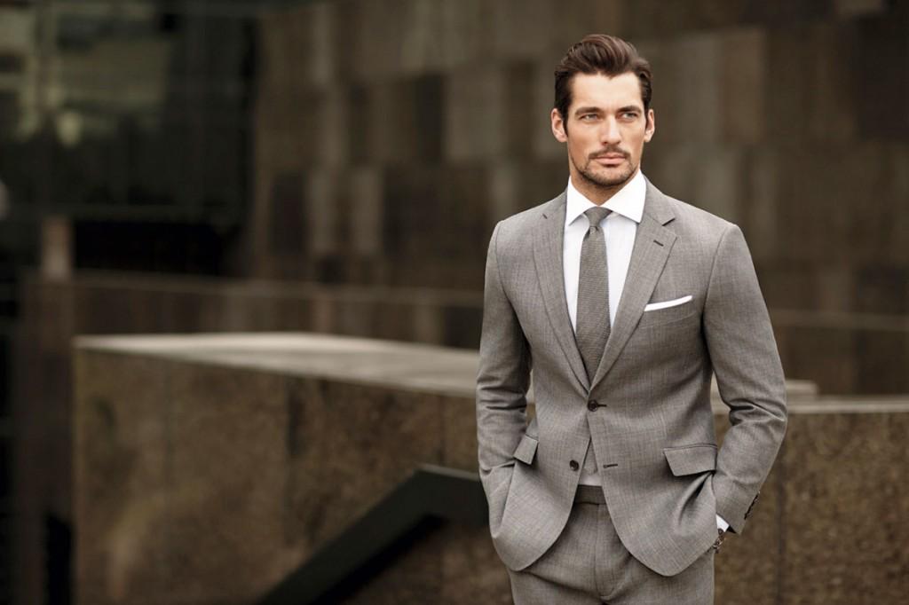 現代男模典範:英國頂級模特兒David Gandy 1