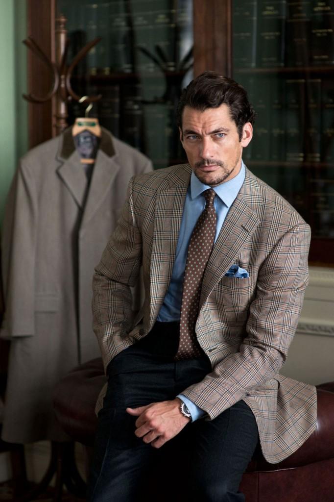 現代男模典範:英國頂級模特兒David Gandy 13