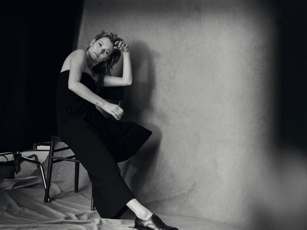 Kate Moss 爲《Vogue》 意大利版一月刊拍攝造型特輯 3