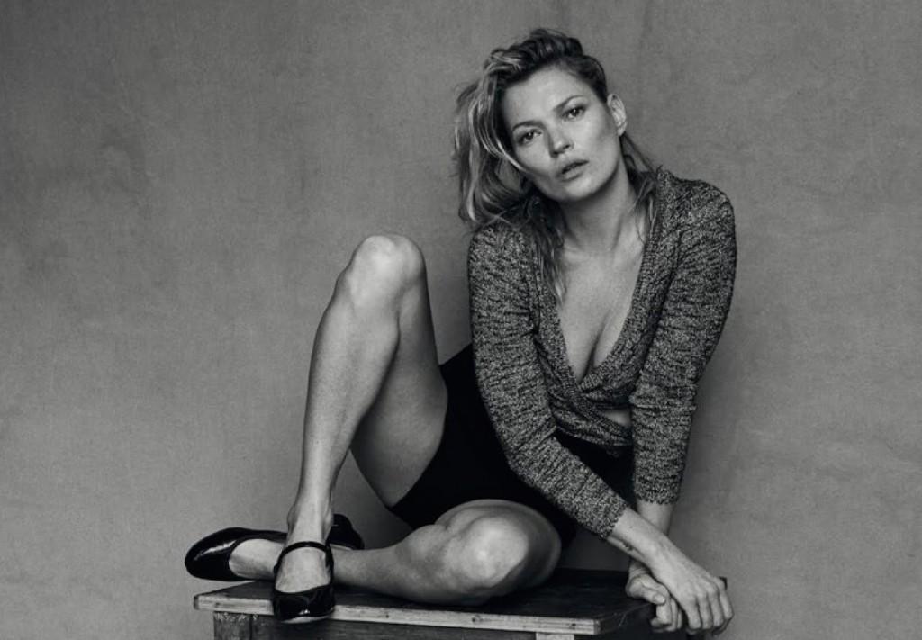 Kate Moss 爲《Vogue》 意大利版一月刊拍攝造型特輯 7