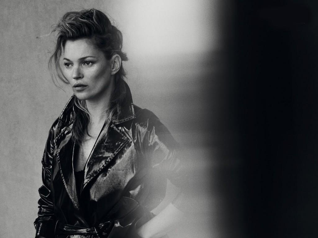 Kate Moss 爲《Vogue》 意大利版一月刊拍攝造型特輯 16