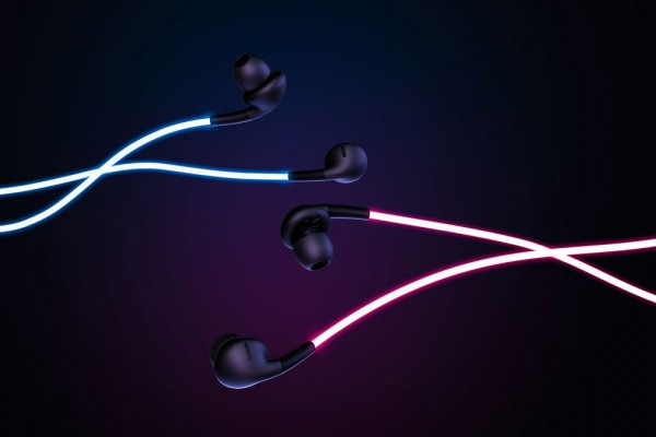 夜晚中最迷人的Glow Headphones 霓虹燈光耳機 5
