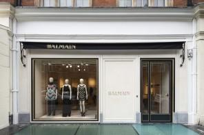 Balmain 倫敦首家旗艦店鋪開業
