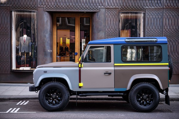 Paul Smith x Land Rover 推出合作款Defender 越野車 9