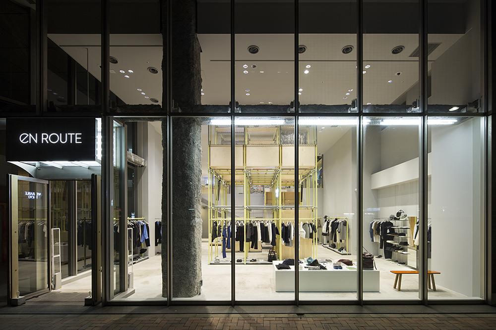 設計工作室Schemata Architects 打造,United Arrows 于東京銀座開設全新EN ROUTE 店鋪 2