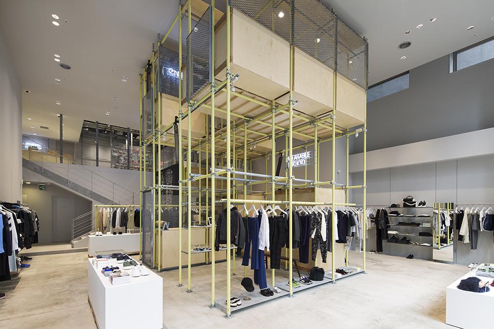 設計工作室Schemata Architects 打造,United Arrows 于東京銀座開設全新EN ROUTE 店鋪 3