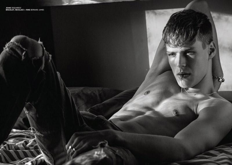 "Alexander Staudal 演繹《Jón magazine》 八月刊""A Boy and His Dog"" 主題特輯 5"