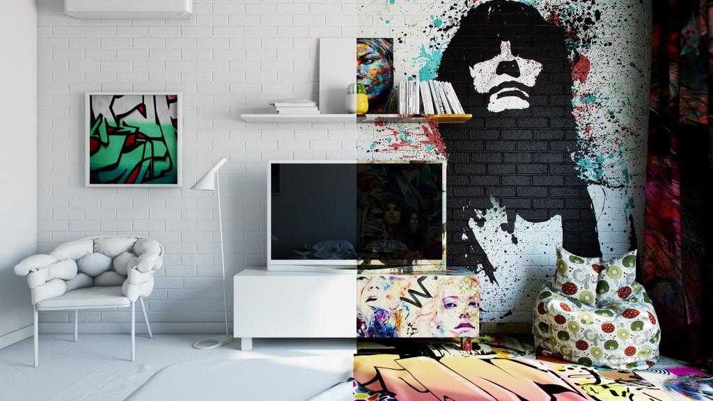 烏克蘭藝術家 Pavel Vetrov 打造衝突感 Hotel Room , 挑戰你我視覺神經 3